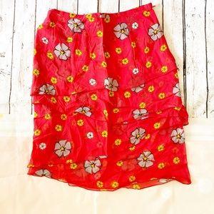 Luca Luca silk skirt